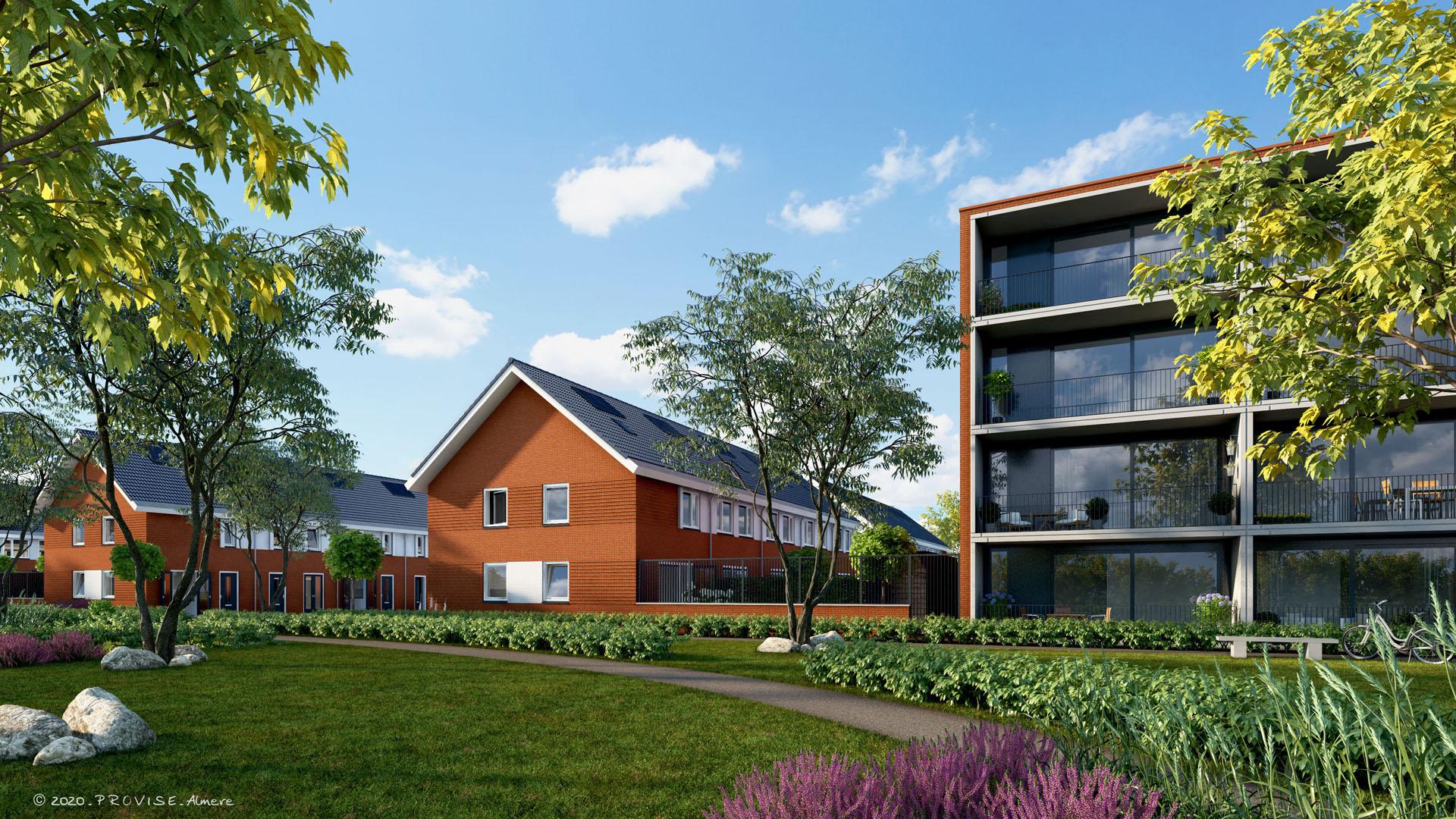 Appartementen Kallisto Leeuwarden
